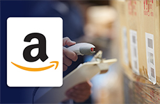 button to view amazon label information and order forms