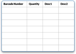 data import spreadsheet example for ordering labels