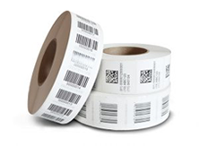labels printed on rolls example